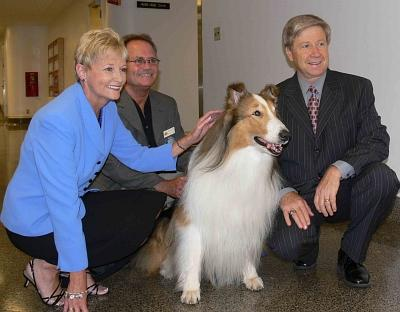 Lassie and Sen. McLeod