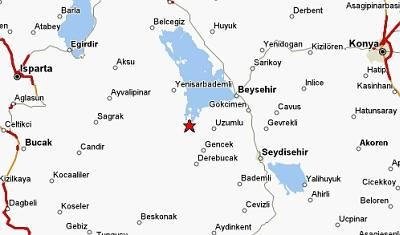 location of Yesildag, Turkey