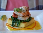 Shrimp Polenta