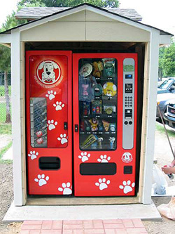 Doggie vending machine