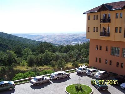 View from Yozgat Hotel